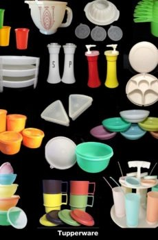 Contemporary Tupperware
